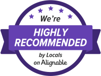 Baker Digital Strategies - Alignable Highly Recommended by Locals Badge